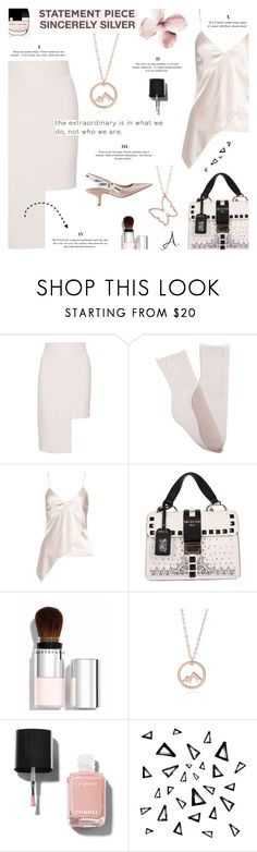 """""""Wait for Spring - Sincerly Silver"""" by lacas ❤ liked on Polyvore featuring Cushnie Et Ochs, Brother Vellies, Marc Jacobs, Chantecaille, Christian Dior, Chanel, Nika and sincerellsilver"""