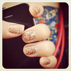 sparkly nails