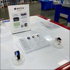 Updated Apple Watch Countertop Presentation Retail Fixtures, Store Fixtures, Apple Watch Features, Watch Display, Acrylic Display, Merchandising Displays, Wrist Watches, Signage, Countertops