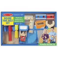 Melissa and Doug Deluxe Tool Belt Set. For the boy.  TRV