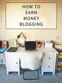 Ways to make money on your blog.q Money Making Ideas #Money