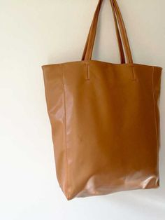 Homecoming sale use to get now! designer leather tote soft and strong  leather handles bag and purse vintage a90a450d72
