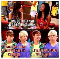 This is funny, kinda awkward for Austin, but funny