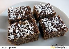 Nepečený jáhlový perník (bez lepku, mléka a vajec) recept - TopRecepty.cz Gluten Free Cakes, Vegan Gluten Free, G 1, Vegan Cake, Sweet Recipes, Easy Recipes, Muffin, Easy Meals, Sweets
