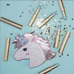 Brand new Toofaced Unicorntears lipstick Brand new Unicorn Tears lipstick mostly sold out everywhere no trades please dont leave  Rude comments and price firm thanks Too Faced Makeup Lipstick