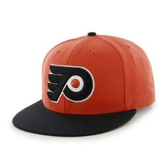 NHL Philadelphia Flyers Two-Tone Backscratcher Snapback Cap by '47 Brand. $12.01. Introducing the '47 Brand Philadelphia Flyers Snapback Cap. Officially licensed by National Hockey League, this '47 Brand exclusive features an embroidered front logo with that classic, vintage throwback look, and is available for all your favorite teams