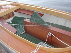 New Gil Smith catboat pics.