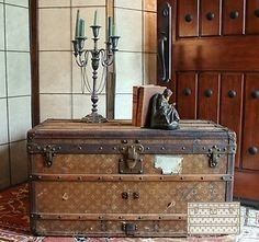 decoration trunk old french