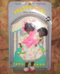 HTF Pretty Pairs Nan N Fran Barbie Friends Sealed NIP #Mattel #Dolls