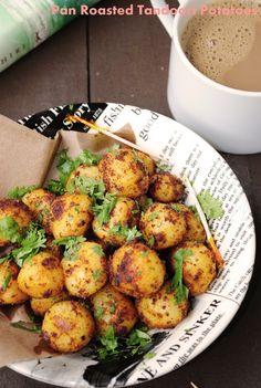 US Masala: Pan Roasted Tandoori Potatoes