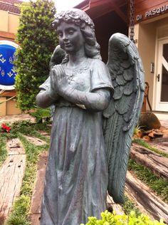 Angel - Gramado RS Brasil Garden Sculpture, Angels, Charmed, City, Outdoor Decor, Home Decor, Brazil, Decoration Home, Room Decor
