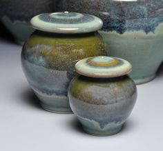 Porcelain Urn, Small, Galaxy-Lucy Fagella Pottery...lovely work
