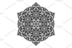 Damask Patterns, Arabesque, Vector Pattern, Abstract Backgrounds, Floral, Flowers, Flower
