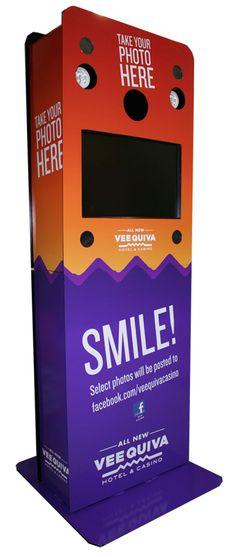 Vee Quiva Casino photo booth #kiosk #photography #photobooth