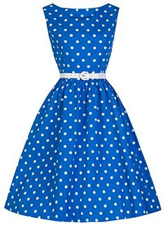 Lindy Bop Classy Vintage Audrey Hepburn Style 1950's Rockabilly Swing Evening Dress (3XL, Blue) Lindy Bop http://www.amazon.com/dp/B00DEK08QY/ref=cm_sw_r_pi_dp_V1T5tb00V7Z0H