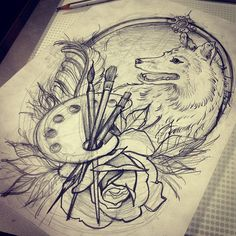 #sketch #sketches #draw #drawing #design #flash #ink #inked (в Bright Ink Tattoo Studio)