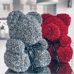 Red Bear Rose Teddy Bear Rose Flower Artificial Decoration Christmas Gifts for Women Valentines Bear Valentines, Valentine Special, Valentine Day Gifts, Teddy Bear Gifts, Teddy Bears, Decoration Christmas, Red Gifts, Christmas Gifts For Women, New Year Gifts
