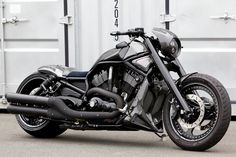 VRSCDX 300 Wide Tire Custom, Bad Land Customs (Harley Davidson, V-Rod)