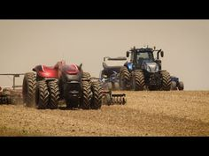 This Robotic Tractor Looks Seriously Badass
