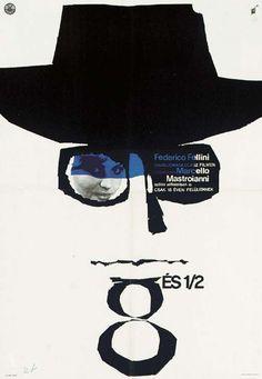 Felini's 8-1/2 #film #poster