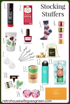 Holiday Gift Guide: Stocking Stuffers for Everyone on Your List