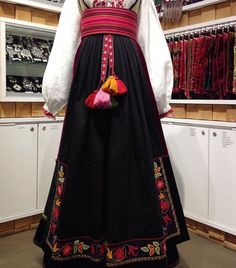 Scandinavian, All Things, Ethnic, Costumes, Embroidery, Skirts, Fashion, Hipster Stuff, Needlework