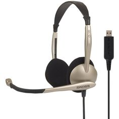 Koss Cs100 Usb On-ear Over-the-head Stereophone Headset