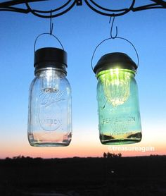 2 Sizes Mason Jar Solar Lids Wide Mouth 4X by treasureagain