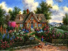 Beary Patch Cottage by Dennis Lewan