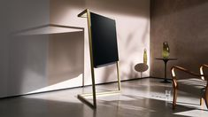 """Inspired by the Golden Twenties, dandies and Art Deco, London-based Bodo Sperlein has designed the newLoewe Bild 9 TV. Its sleek exterior conceals state-of-the-art technology – OLED and Dolby Vision, for vibrantly authentic pictures and exploding colours brimming with detail. """"Bodo Sperlein's design bears his personal signature and impressively conveys Loewe's new zeitgeist, combining convincing …"""