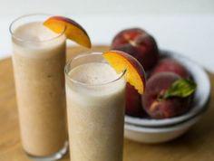 Peach Pie Protein Shake