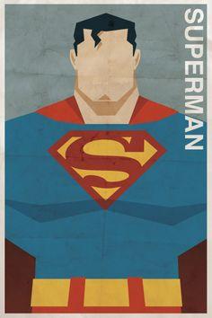 Vintage-Superman-Poster