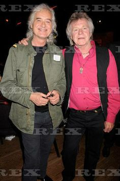 Jimmy Page with Dave Edmunds The Mojo Honours List Awards at The Brewery, London, 16 Jun 2008 Dave Edmunds, Rory Gallagher, The Yardbirds, Jimmy Page, Great Bands, Led Zeppelin, Brewery, Awards, Guitar Room