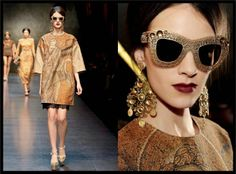 Stunning Dolce & Gabbana Filigree Eyewear Collection