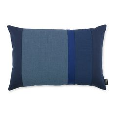 Discover the Normann Copenhagen Line Cushion - 40x60cm - Blue at Amara