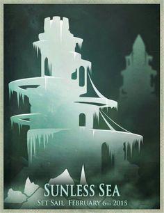 Sunless Sea, Landscape Concept, Fallen London, Bloodborne, Set Sail, Musketeers, Underwater World, Bats, Demons