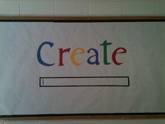 Elfers Art Room: Bulletin Board- Such a wonderful, recognizable idea!