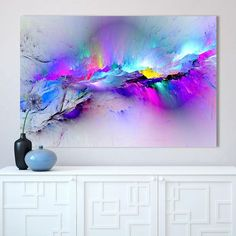 Canvas Paintings Wall Art HD Prints Framework 1 Piece/Pcs Abstract Unreal Pink Cloud Landscape Pictures Nebula Poster Home Decor Beautiful abstract unreal pink cloud art that is rich in color. The newest style in wall HD color printed. Acrylic Pouring Art, Acrylic Art, Abstract Wall Art, Canvas Wall Art, Canvas Paintings, Painting Abstract, Canvas Poster, Art Sur Toile, Landscape Art
