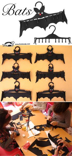 bats kid crafts