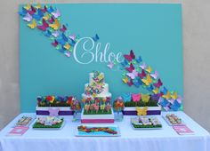 Friday Feature- Butterfly Party...bloom designs online