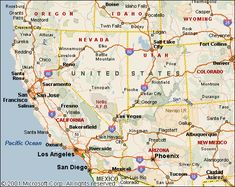 Western Us Map Google Search