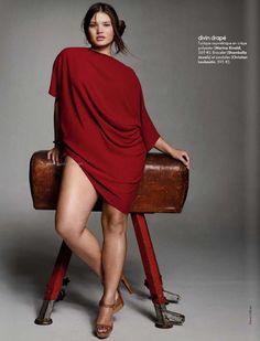 camille reads: Plus Size Model - Tara Lynn Curvy Fashion, Plus Size Fashion, High Fashion, Petite Fashion, Fall Fashion, Style Fashion, Moda Plus Size, Plus Size Model, Moda Xl