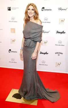Not a Celine Dion fan but I love this gown by J. Mendel at Bambi Awards in Duesseldorf, Germany (11/22/2012)