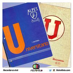 ¿Quién recuerda estos cuadernos?