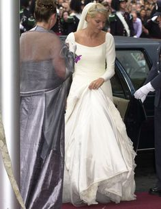 mette marit brudekjole - Google-søgning