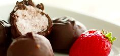 Strawberry Coconut Truffles | Strawberry-Coconut Truffles