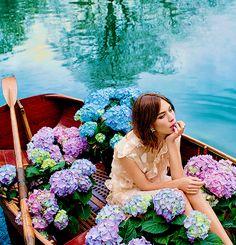 alexachung:  Alexa Chung photographed by David Slijper for Harper's Bazaar
