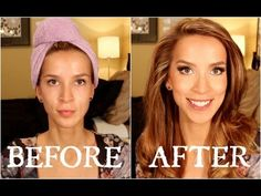 FLAWLESS FOUNDATION ROUTINE (NEW & IMPROVED!).  Love Love Love Leighannsays videos!! She uses a lot of different drug store brands and lets you know what she thinks about them.