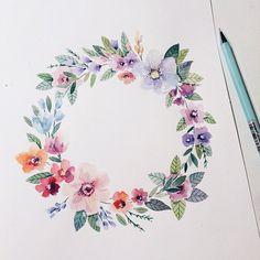 Я цветочу,букечу ✌️ #illustration #vickyod #vickyodillustration #art #artsy #artist #artwork #art_we_inspire #draw #paint #paper #pancil #painting #watercolor #flora #floral #flowers #flowermagic #instaart #instagood #blooms #blossom