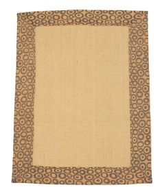 2' x 3' Natural Jute Eco Friendly Small Rug by Rug Shop and More